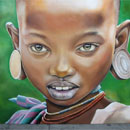 African Young Girl